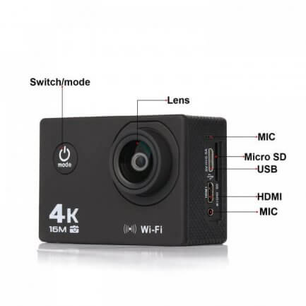 Lipa AT-Q30RM action camera
