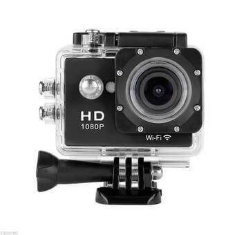 Full HD Action camera+extra batterij WIFI