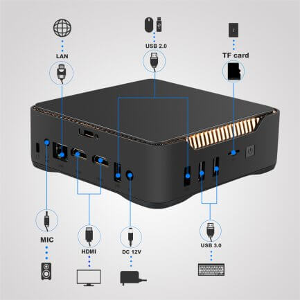 AK 3V mini pc