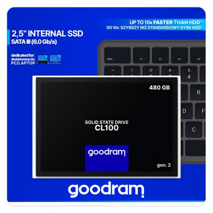 Cl100 480 GB interne SSD