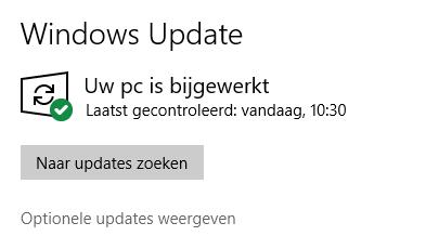 Windows driver update