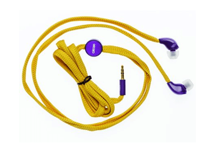 Headphone In-ear shoe lace