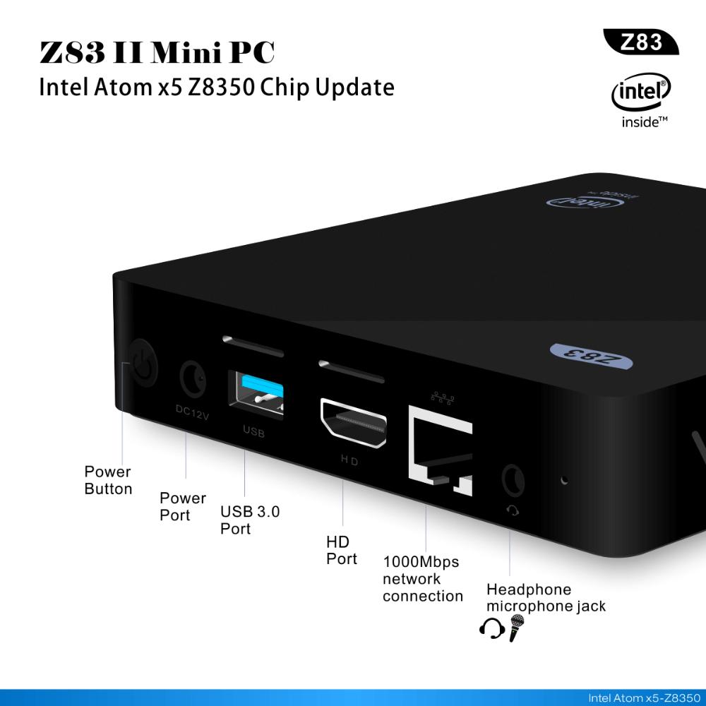 Beelink Z83 II | Mini pc met Windows 10 en 4K | Majstra com