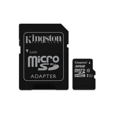 Kingston MicroSD-kaart 32 GB