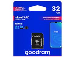Goodram microSD-kaart 32 GB