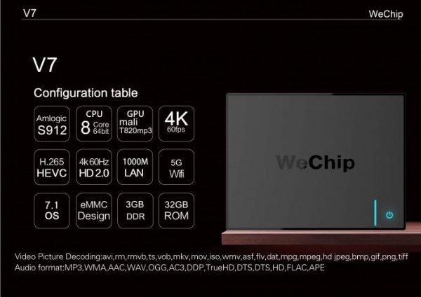 Lipa V7 Tv box