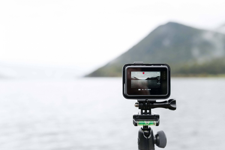 action camera op vakantie