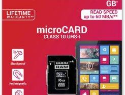 Goodram microSD-kaart 16 GB