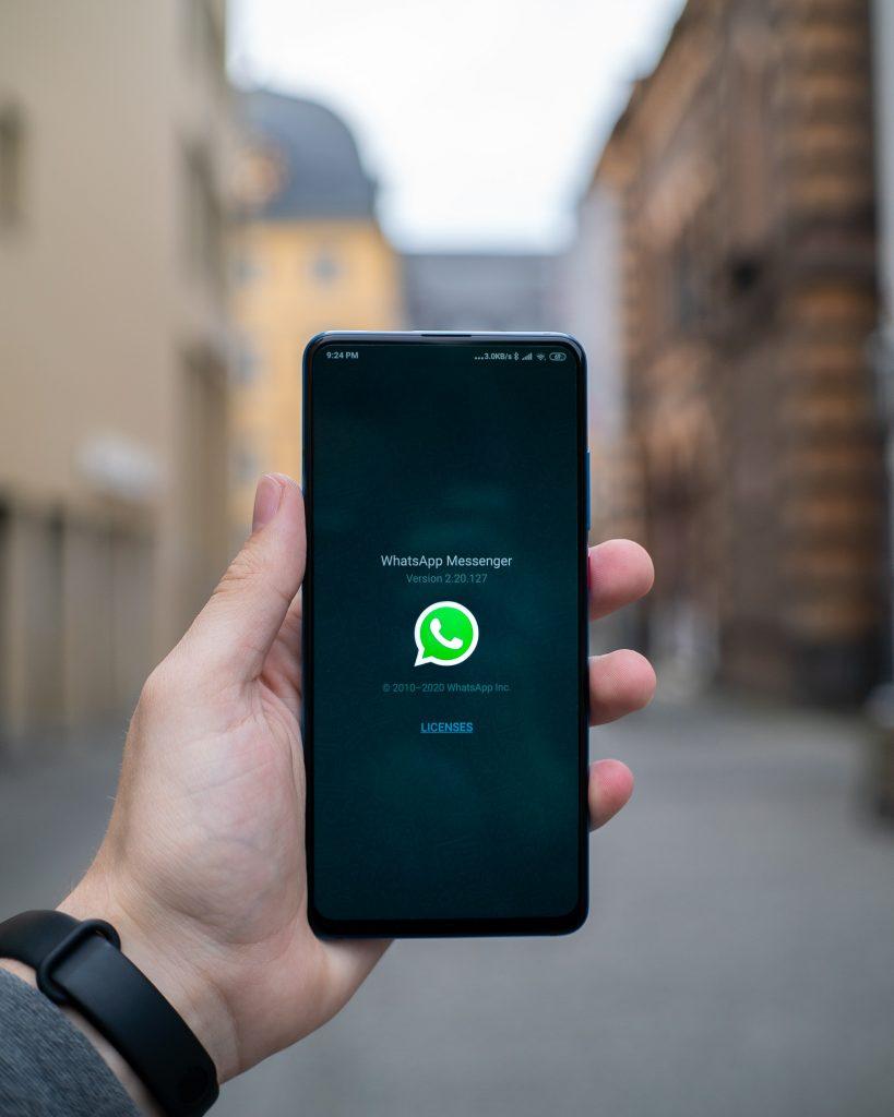 whatsapp op tablet