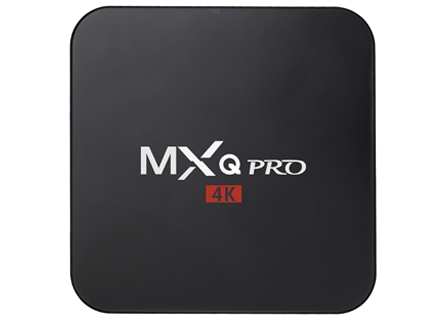 MXQ Pro Android Tv Box 4K Android 7.1