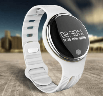 Omega E07 smart bracelet White