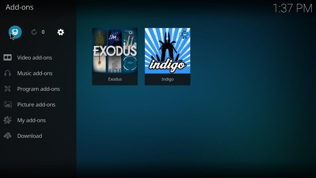 Alternatief van Exodus op Kodi